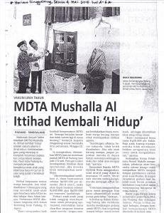 MDTA Al Ittihad diresmikan