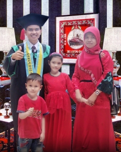 Poto wisuada Keluarga  Nasrul Makdis terminal Poto, sabtu, 1 Nov 2014